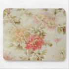 Antique French Floral Toile Mouse Pad