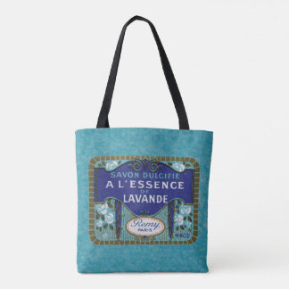 Antique French Lavender Soap Tote Bag