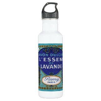 Antique French Lavender Water Bottle
