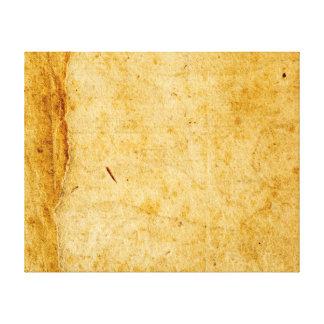 Antique French Paper Parchment Background Texture Canvas Print
