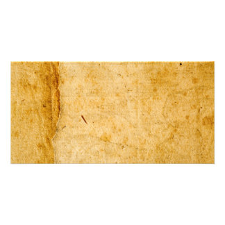 Antique French Paper Parchment Background Texture Card