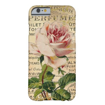 Antique French Pink Roses Barely There iPhone 6 Case