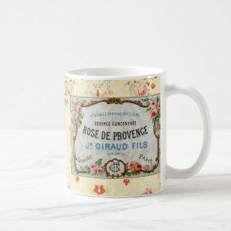 Antique French Rose Advertisement Mug