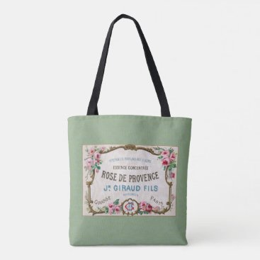 Miss_Zanys_Ephemera Antique French Rose Perfume Tote Bag