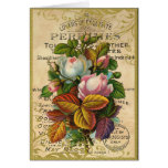 Antique French Roses Card