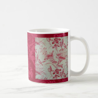 Antique French Toile Coffee Mug