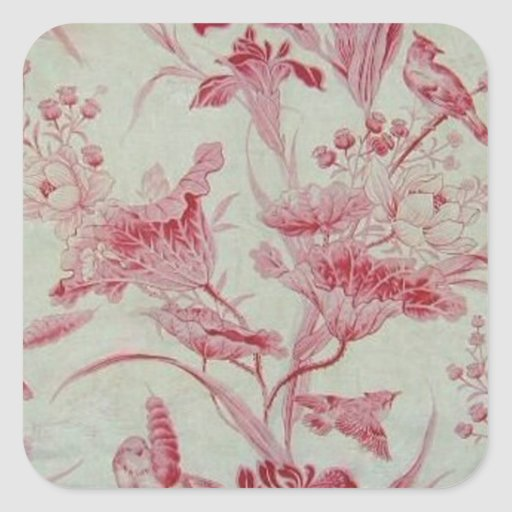 Antique French Toile Stickers