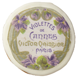 Antique French Violet Perfume Cookie