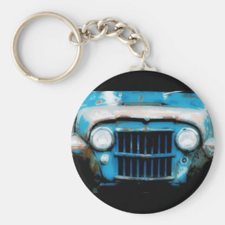 Antique Front Grille and Headlights Key Chain