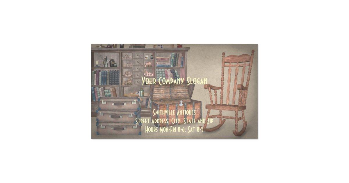 Antique Furniture Store Business Card Zazzle