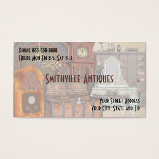 Antique Furniture Store Business Card