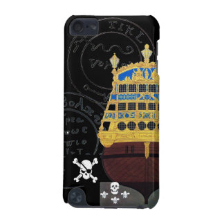 ANTIQUE GALLEON AND PIRATE TREASURE MAPS iPod TOUCH 5G COVER