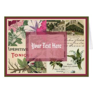 Antique Garden Card