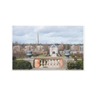 Antique garden Royal Hospital Dublin Ireland Gallery Wrap Canvas