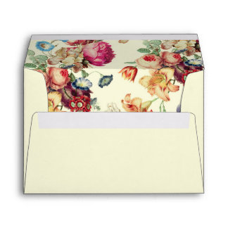 Antique Garden | Vintage Invitation Envelopes