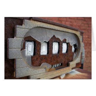Antique Gas Pump Card