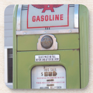 Antique Gas Pump Coaster