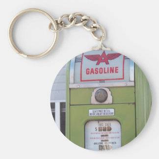 Antique Gas Pump Keychain