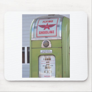 Antique Gas Pump Mouse Pad