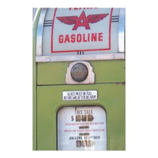 Antique Gas Pump Stationery