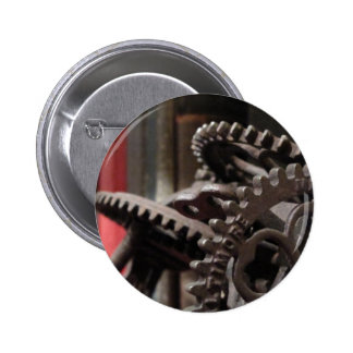 Antique Gears and Books Pins