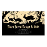 Antique German / Austrian Business Card w/ Deer