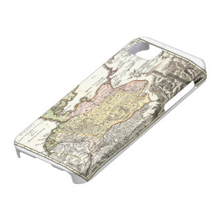 Antique Germania - Old german map iPhone SE/5/5s Case