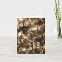 'Antique Glow' Holiday Card - Christmas