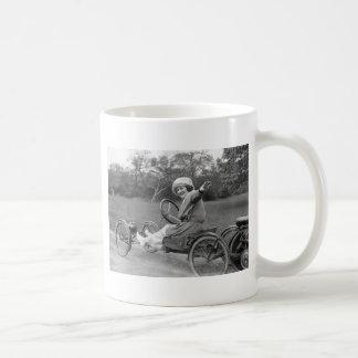 Antique Go Cart, early 1900s Coffee Mug