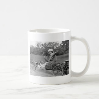 Antique Go Cart early 1900s Mugs