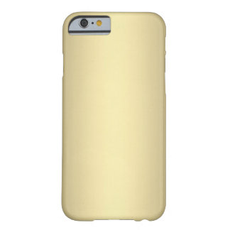 Antique Gold Barely There iPhone 6 Case