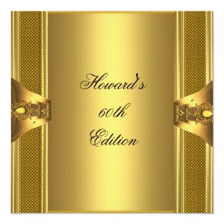Antique Gold Book Mens 60th Birthday Man Card