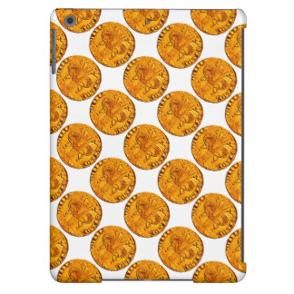 ANTIQUE GOLD FLORENTINE FORINT COVER FOR iPad AIR