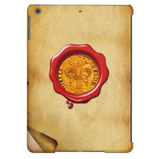 ANTIQUE GOLD FLORENTINE FORINT wax parchment Case For iPad Air