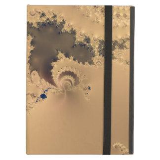 Antique Gold Fractal Design Case For iPad Air
