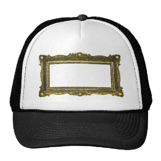 Antique Gold Picture Frame Trucker Hat