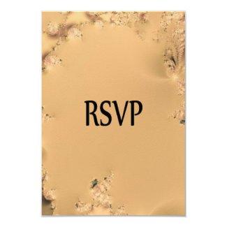 Antique Gold RSVP 3.5x5 Paper Invitation Card