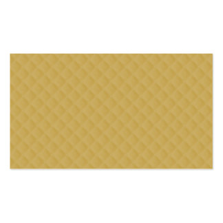 Antique Gold Stitched Quilt Pattern Double-Sided Standard Business Cards (Pack Of 100)