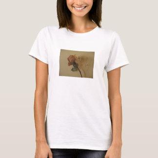 Antique Golden Rose (1) T-Shirt