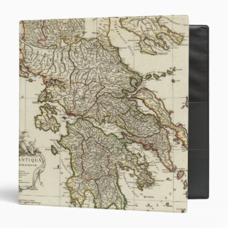 Antique Greek Map Binder