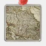 Antique Greek Map Ornament
