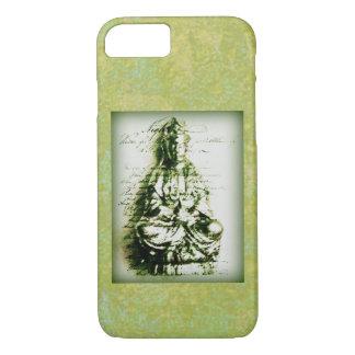 Antique Green Kwan Yin iPhone 7 Case