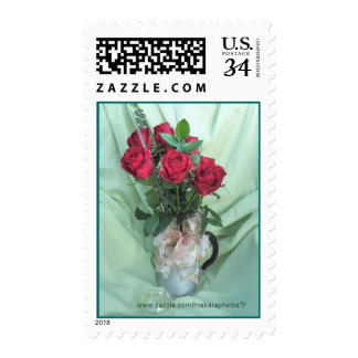 antique GS Coffee Pot & Roses Stamp- customize Postage