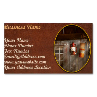 Antique - Hanging around Business Card Magnet