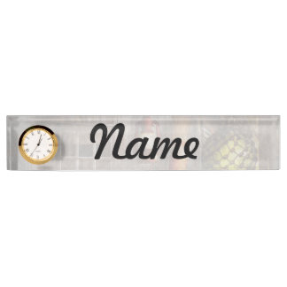 Antique - Hanging around Name Plate