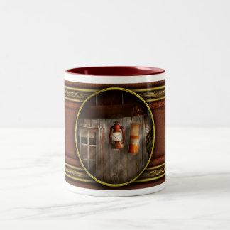 Antique - Hanging around Two-Tone Coffee Mug