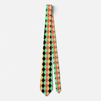 Antique Harlequin Neck Tie