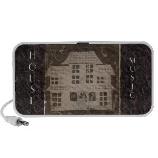 Antique Haunted House iPod Speaker