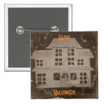Antique Haunted House Pin