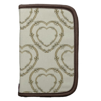 Antique Hearts and Flowers Design Planners